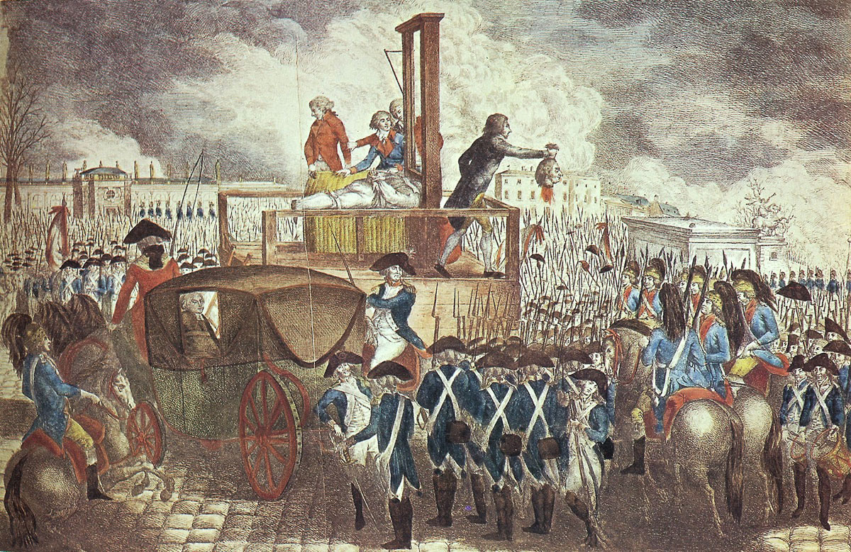 Image result for King Louis XVI Beheaded