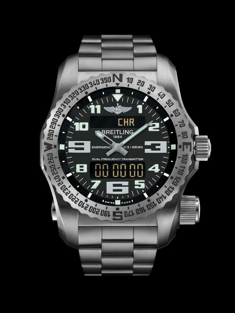 New Breitling Emergency II Watch EXtravaganzi