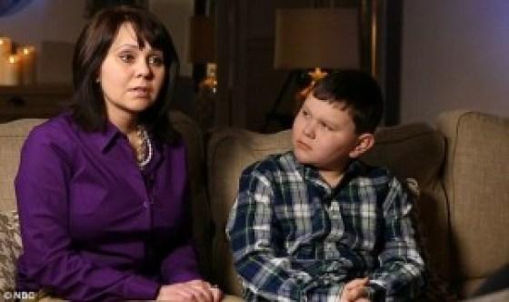 IL PICCOLO RYAN E LA MAMMA INTERVISTATI DALLA NBC NEWS
