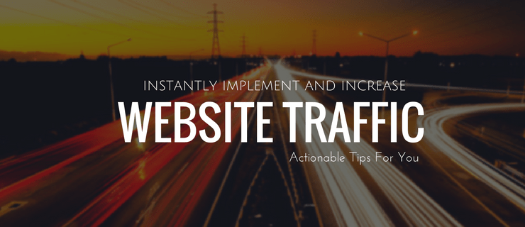 Web_site _ Traffic Actionable Tips