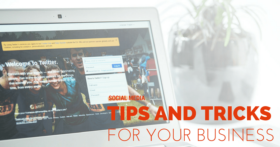 Tip and Tricks for social media marketing 2016