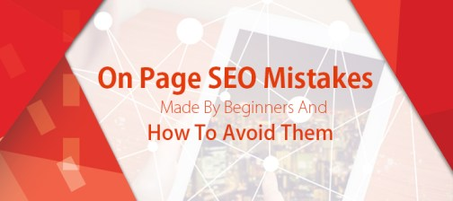 on page seo mistakes