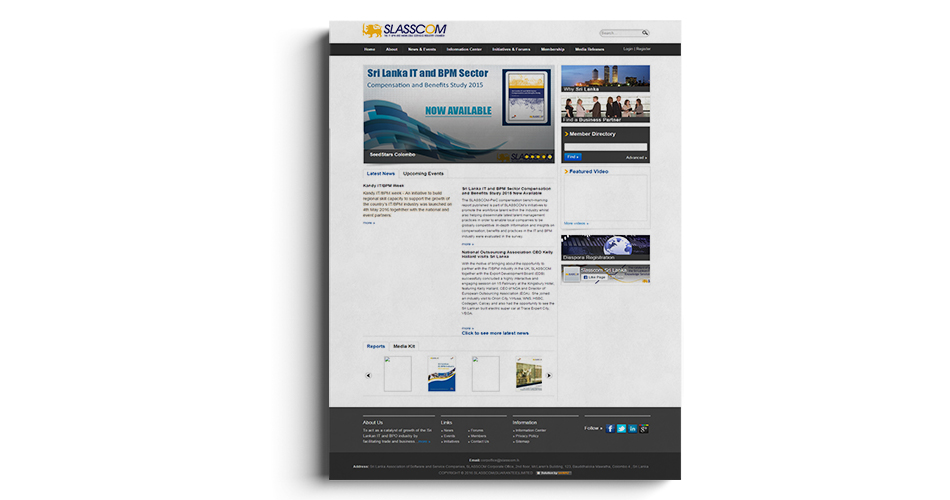 slasscom website