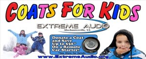 Extreme Audio Announces 3rd Annual Coats for Kids Drive!