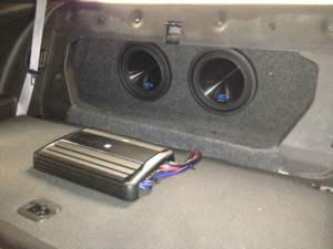 Camaro Car Audio