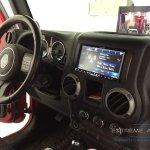 Jeep Wrangler Nav and Camera