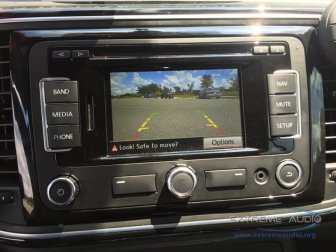 VW Beetle Backup Camera