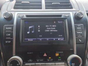 Camry SiriusXM
