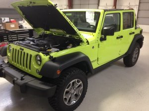 Norfolk Client Gets Jeep Wrangler Audio and More!