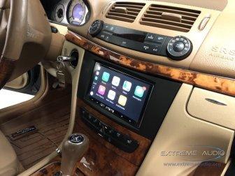 Mercedes E350 Apple CarPlay