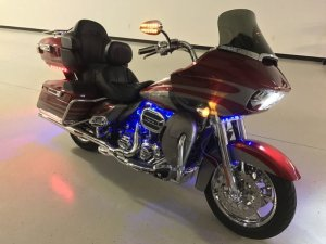 Midlothian Client Upgrades 2016 Road Glide Ultra CVO Stereo