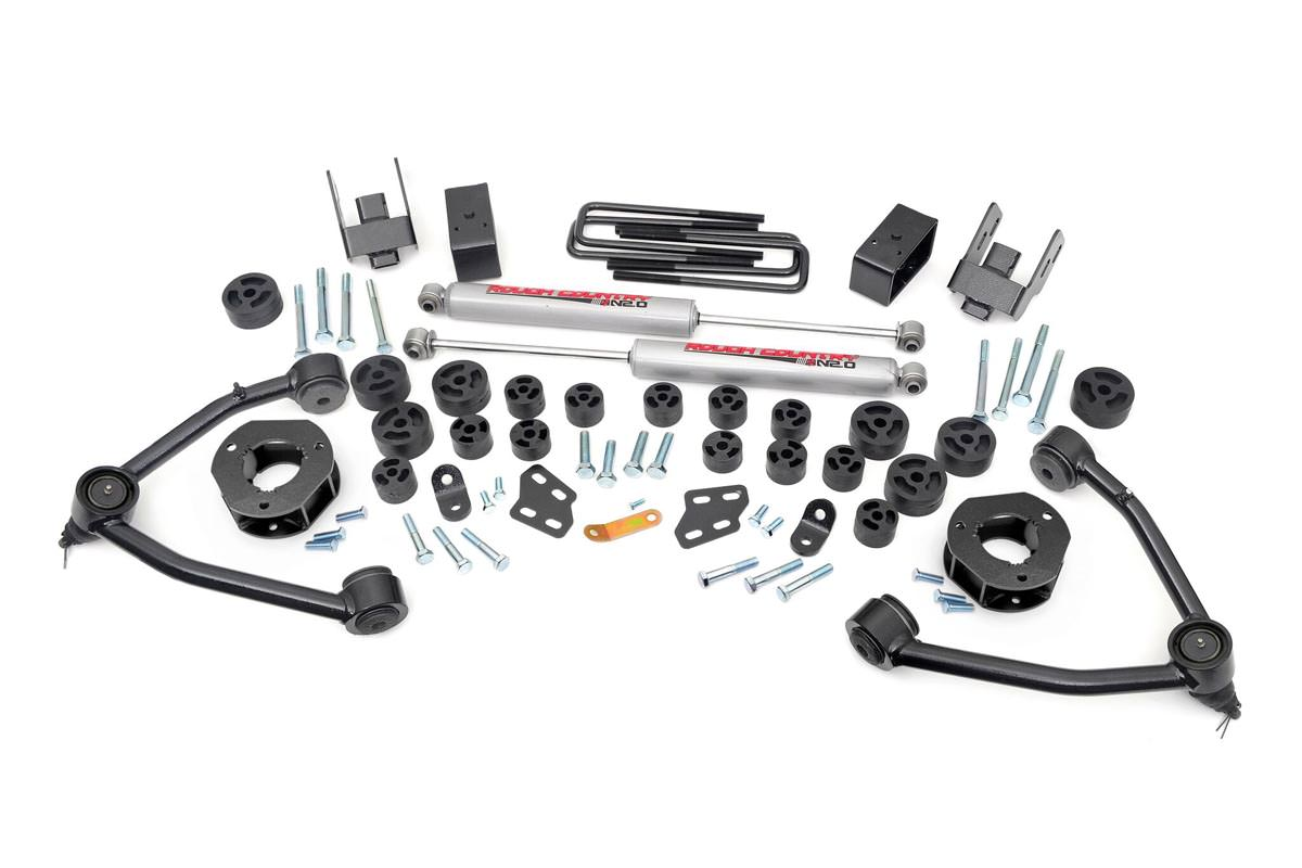 Rough Country 4 75 Inch Suspension Amp Body Lift Combo Kit