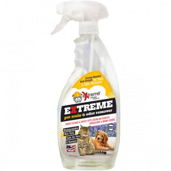 Odor and stain remover bottle