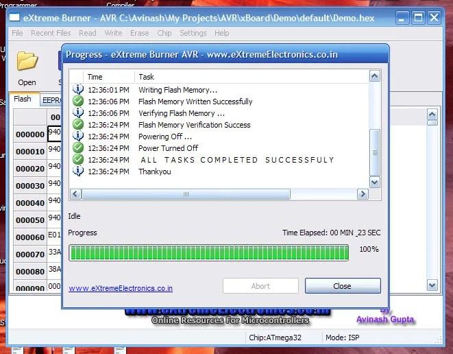 GUI Software for USBasp - Task Complete!