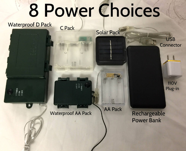Battery Packs Christmas Lights