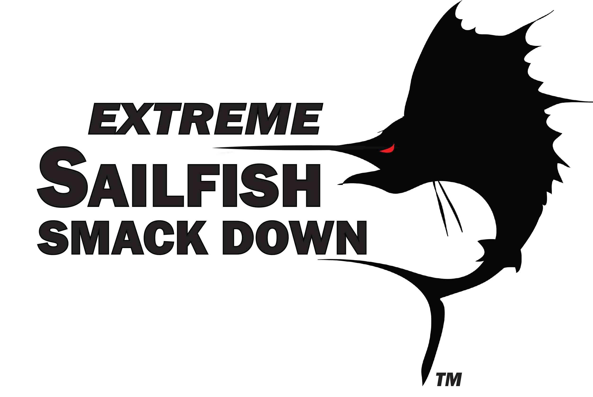 Sailfish Smack Down Decal Sticker