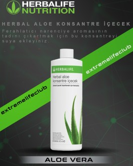 Herbal Aloe Konsantre İçecek 473 ml