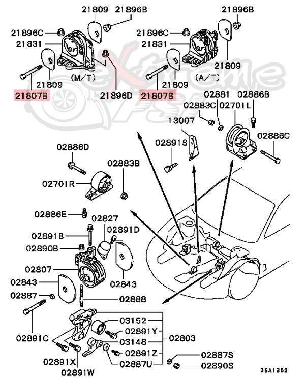 1998 Eclipse Mitsubishi Eclipse Turbo Gst 2 Gst 1998 Dr Mitsubishi