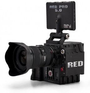 RED Scarlet body (with a Canon lens...)