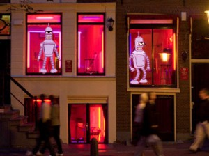 The Amsterdam Red Light District of the future!