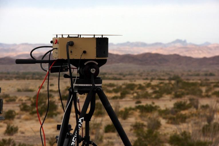 DARPA's CT2WS 120-megapixel camera