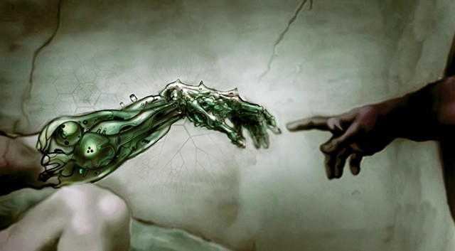 A transhumanist's take on Michelangelo's Cistine Chapel