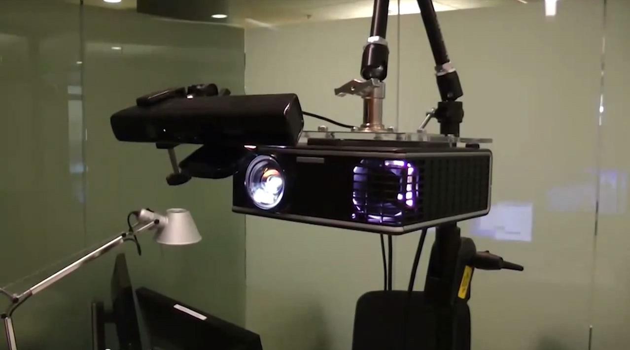 IllumiRoom prototype