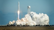 Orbital's Antares rocket launch from MARS