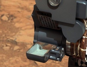 Curiosity has everything from drills to lasers for taking and analyzing samples of the red planet.