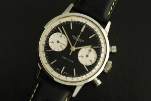 A vintage Breitling chronograph -- a real wristwatch