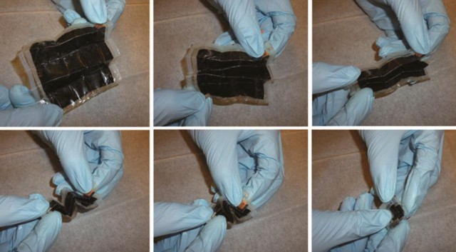 Folded paper lithium-ion battery increases energy density by 14 times