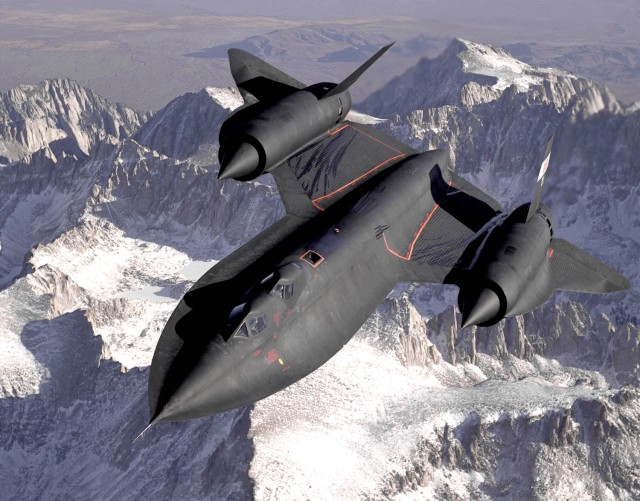 The SR-71 Blackbird