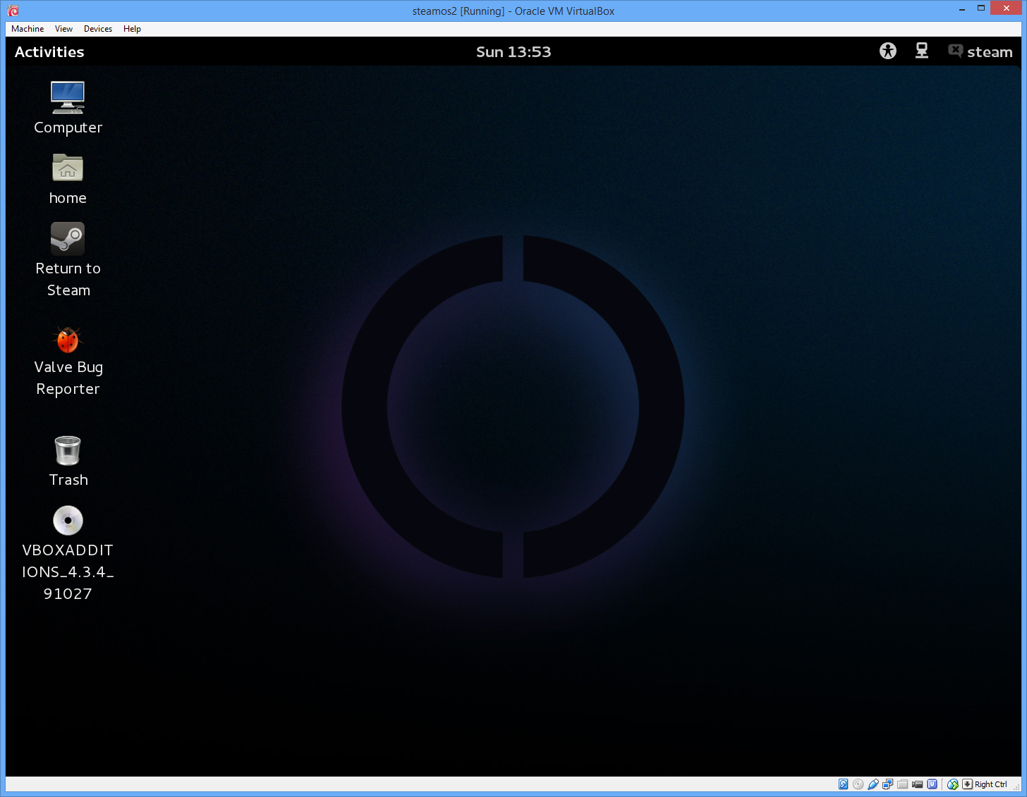 How To Install SteamOS In VirtualBox ExtremeTech