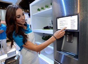 A smart refrigerator, now with Google ads