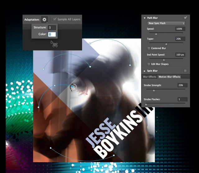 Photoshop's new path-based blur lets you create just about any blur effect you can imagine
