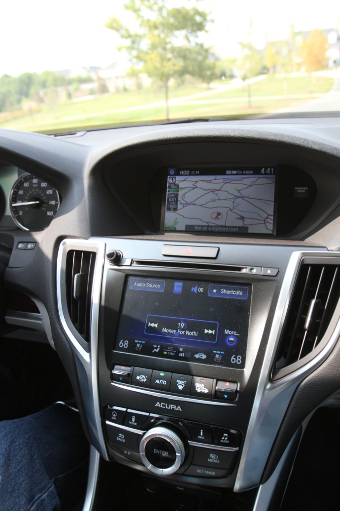 2015 Acura Tlx Review Tech Refinement Puts The New Tlx Within Striking Distance Of The 3