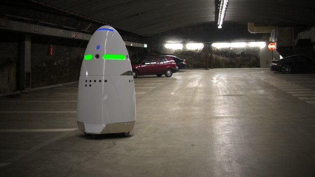 K5 security robot
