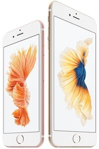 iPhone 6s and Plus