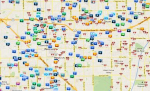 Crime mapping is just one, relatively non-invasive, method of applying analytics to the population at large.