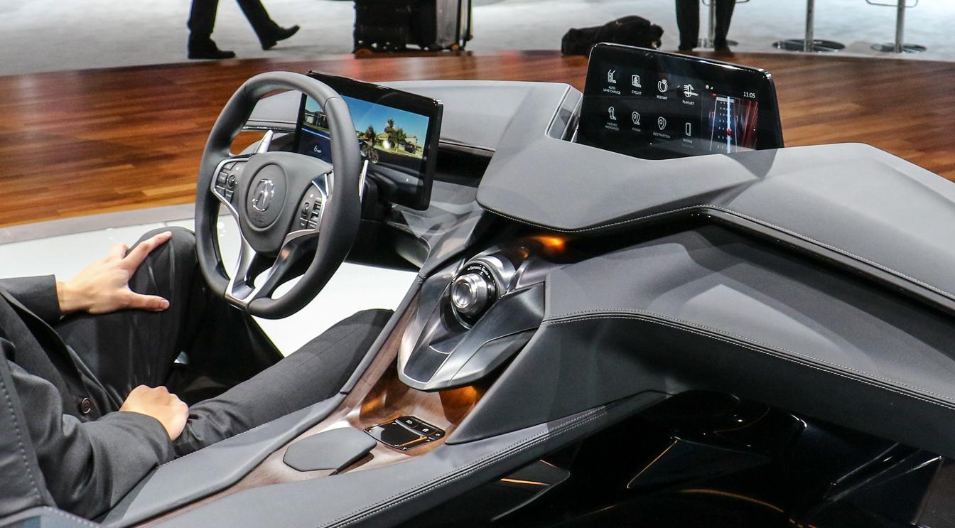 Acura Precision Cockpit Futuristic Check Suitable For