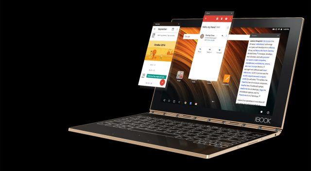 Lenovo Yoga Book product shot