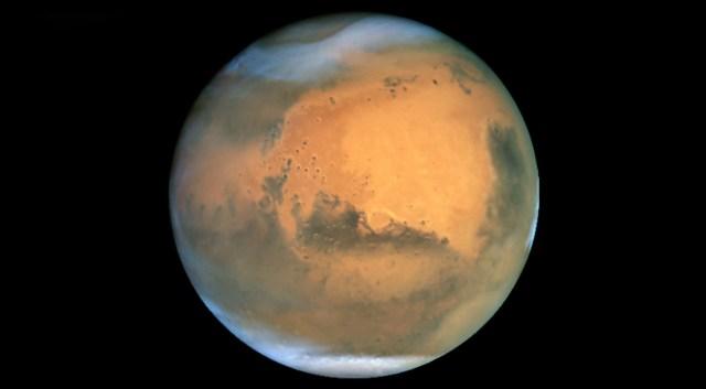 Марс из Хаббла