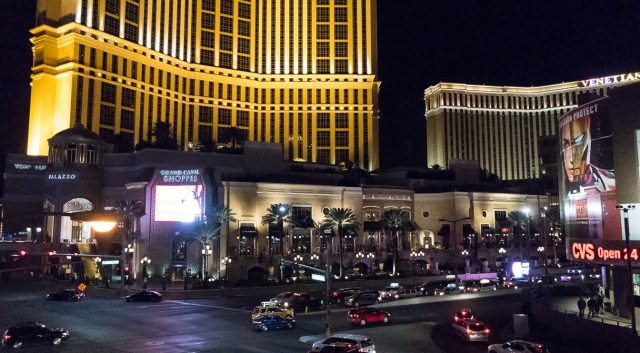 CES now sprawls over more than a dozen hotel casino locations including the Venetian Sands which is featured here