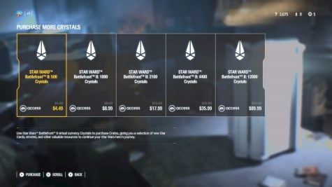 battlefront microtransactions