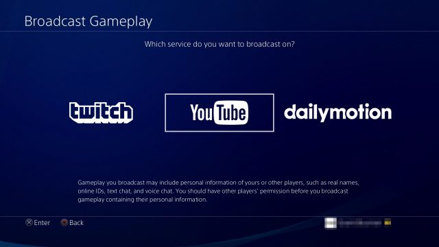 PS4 Streaming 2