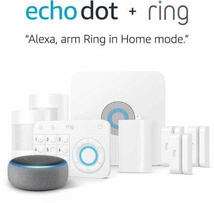 ET Deals: Ring Home Security Sale — Ring Video Doorbell 2 + Echo Dot $159, Ring Alarm 8-Piece Kit + Echo Dot $179 3