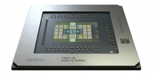 Navi GPU in Radeon Pro W5700 built on RDNA architecture.