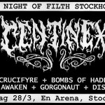 A Night Of Filth – En Arena 28/3 2015
