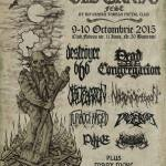 OLD GRAVE FEST 4TH EDITION 9-10/10 2015 – Fabrica, Bucharest