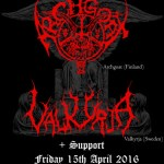 OTD 2016: The Valkyrja/Archgoat UK trip